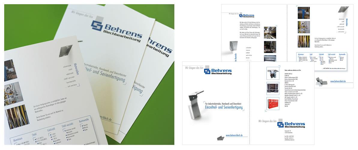 ... digital ... gedruckt | Behrens Blechbearbeitung, Berlin