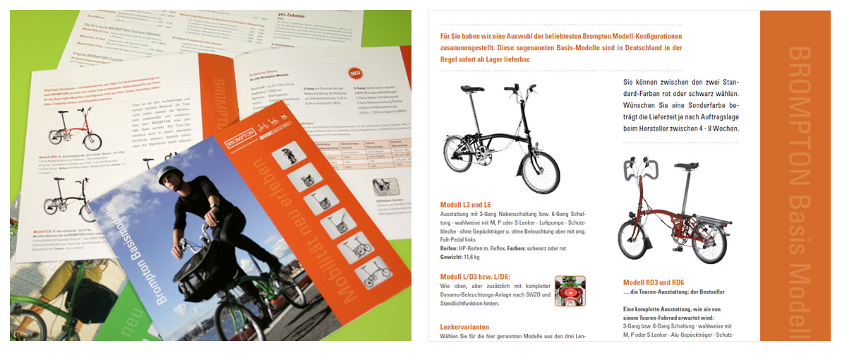 ... gedruckt | Brompton Folding Bikes, Kaaks