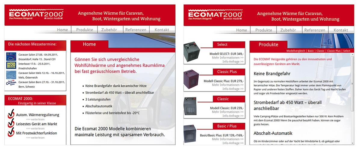 ... digital ... gedruckt | Ecomat 2000 Heizgeräte