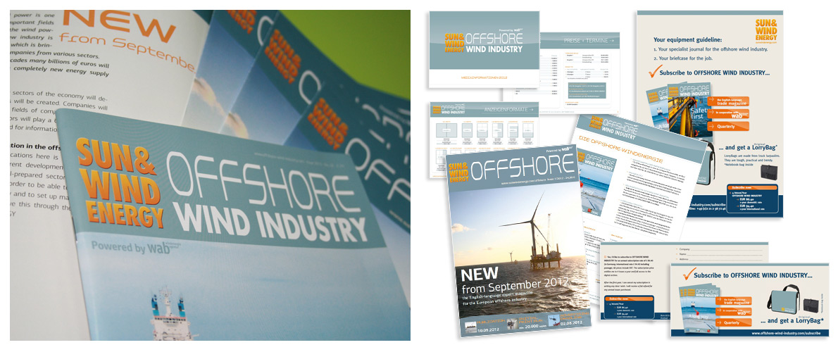 ... digital ... gedruckt | Offshore Wind Industry, Bielefeld