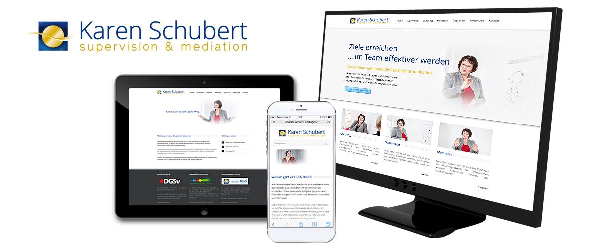 ... digital ... gedruckt | Karen Schubert, Supervision und Mediation