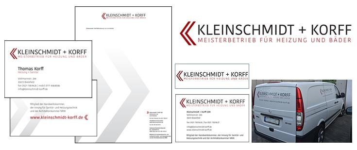 ... gedruckt | Kleinschmidt + Korff, Bielefeld