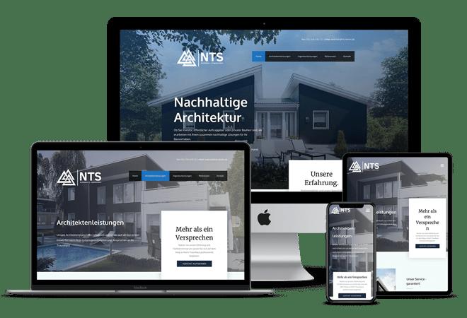 Abbildung der Webseite www.architektur-baukunst.de